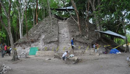 Rare Maya Burial Temple Discovered in Belize