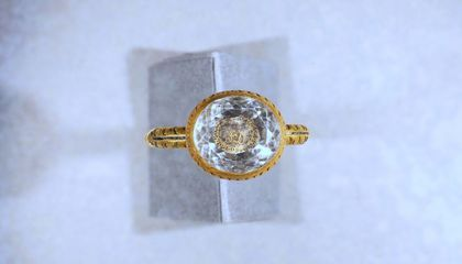 17th-Century Gold Mourning Ring May Be Linked to Executed English Aristocrat