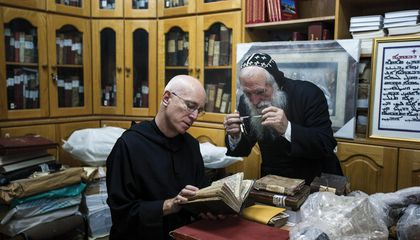 This American Monk Travels the World to Rescue Ancient Documents From Oblivion