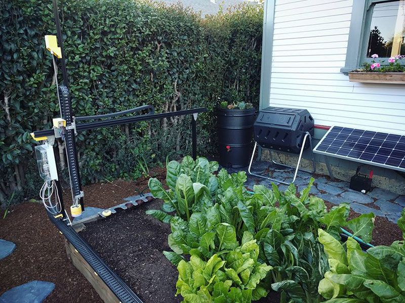 The FarmBot Genesis Brings Precision Agriculture to Your Own