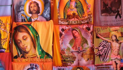 A New Way to Show Your Devotion in Mexico City: Wear a T-Shirt