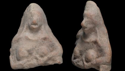 Eleven-Year-Old Boy Discovers Ancient Fertility Amulet in Israeli Desert