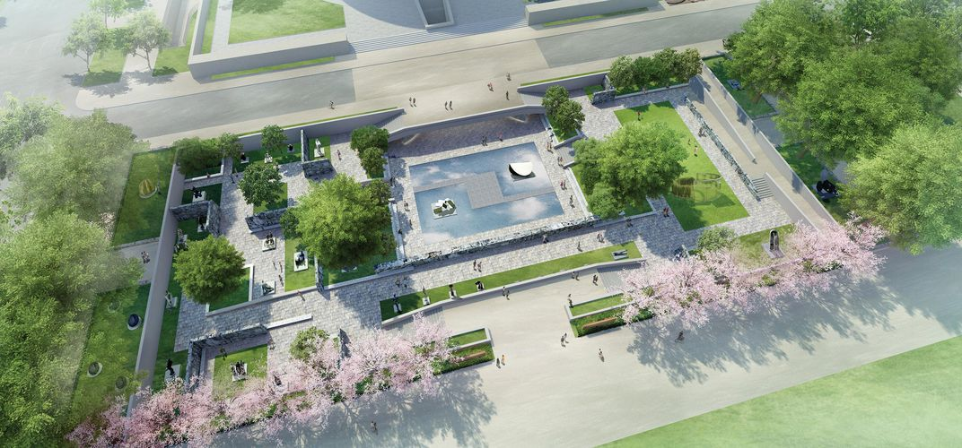 Caption: Hirshhorn Sculpture Garden to Undergo Renovations