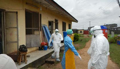 Superspreaders Caused Much of the 2014 Ebola Epidemic