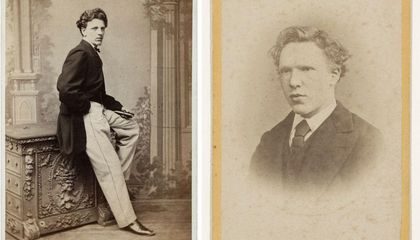 Employer Who Pushed Van Gogh to New Career Path Revealed in Studio Photo