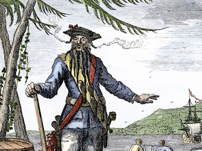 Three Centuries After His Beheading, a Kinder, Gentler Blackbeard Emerges