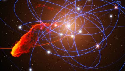 Doomed Blob of Gas Headed for Black Hole