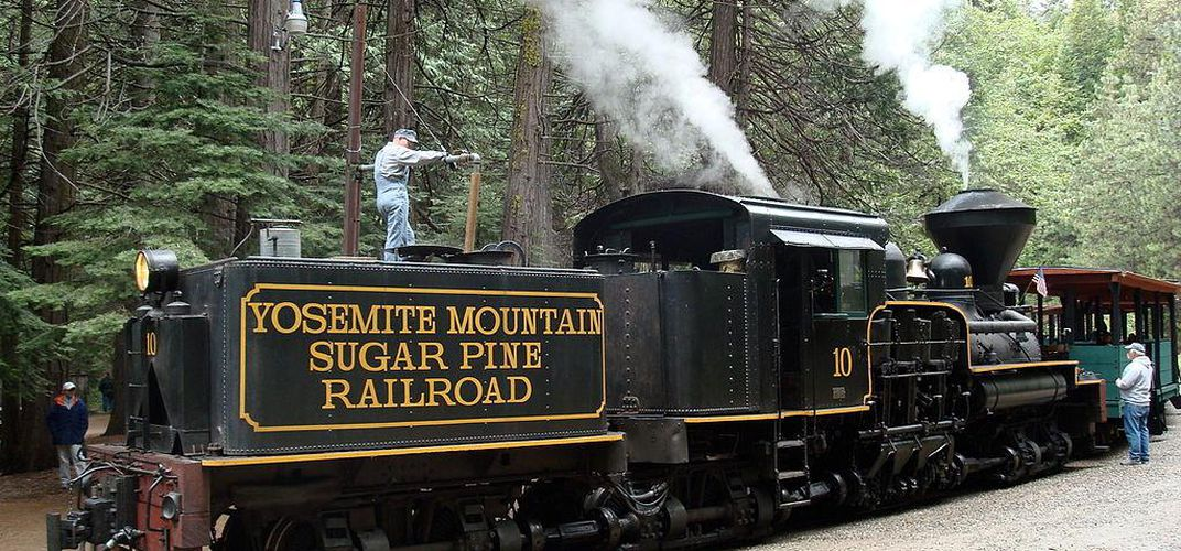 Yosemite Mountain Sugar Pine Railroad. Credit: Jo Ackerman