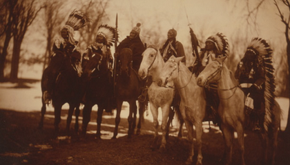 Who Were the Six Native American Chiefs in Teddy Roosevelt's Inaugural Parade?