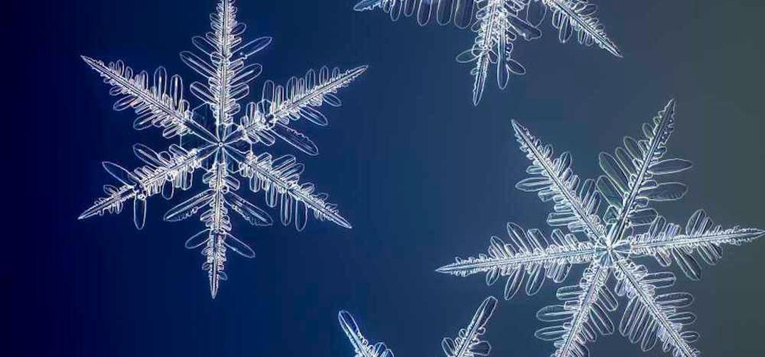 Caption: See Snowflakes in High Resolution