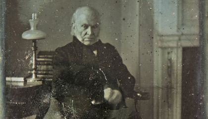 See the Earliest-Known Photograph of a U.S. President at the National Portrait Gallery in 2018