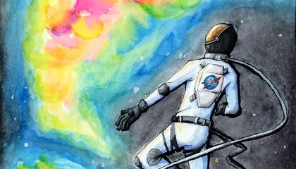 NASA's Art Contest Reveals How Kids See the Future