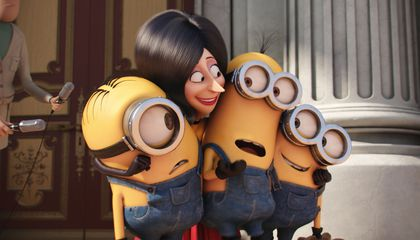 Image: The chuckles and squeaks of Minions