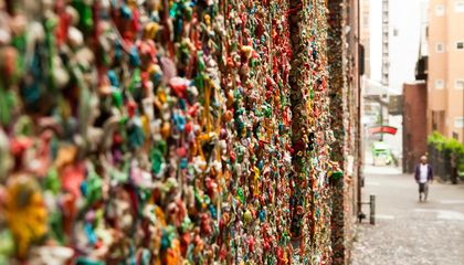 Seattle's Famous 'Gum Wall' Is Getting Scraped Clean