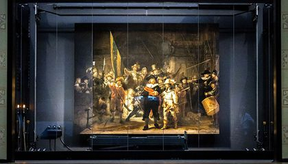 Lost Edges of Rembrandt's 'Night Watch' Are Restored Using Artificial Intelligence