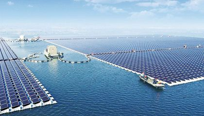 China Turns On the World's Largest Floating Solar Farm