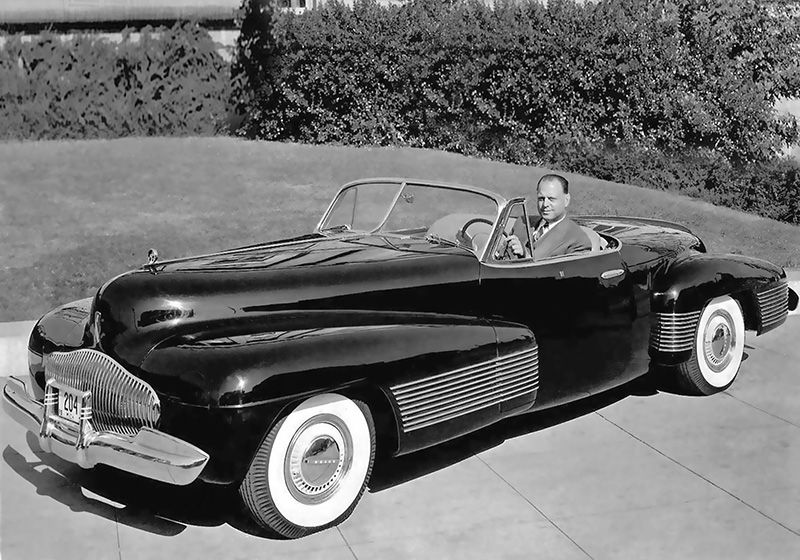 Car Of The Future Harley Earl And Y Job Jpg