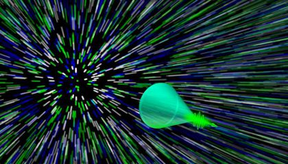 """Scientists Capture a """"Sonic Boom"""" of Light"""
