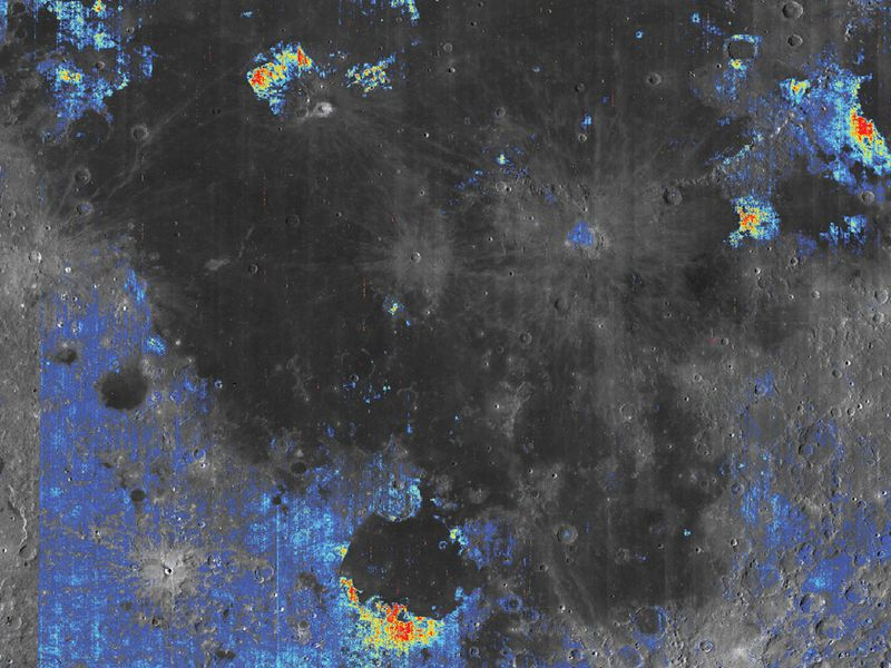 The moon's insides may contain water - lots of it