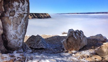 This Awesome Atmospheric Anomaly Filled the Grand Canyon With Fog