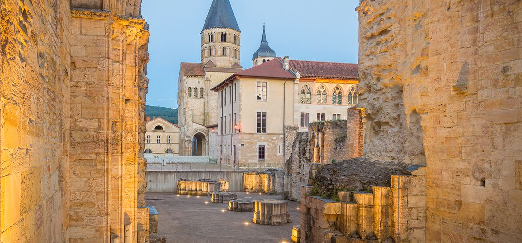 The Benedictine Abbey of Cluny
