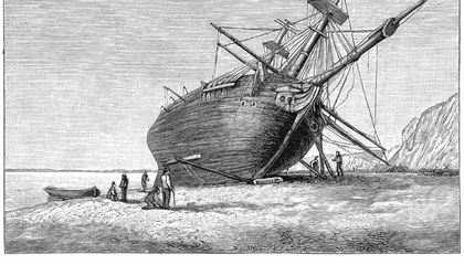 Historians Are Looking for Images of the HMS Beagle's Anchors