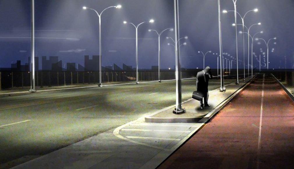 Clever Smart Street Lamps Light Up