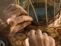Willow weaving master class at Yegheg image