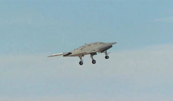 Preview thumbnail for video'X-47B First Flight