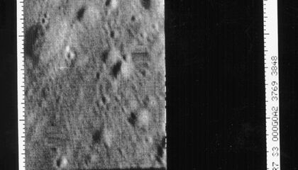 The First Close-Up Photos of the Moon
