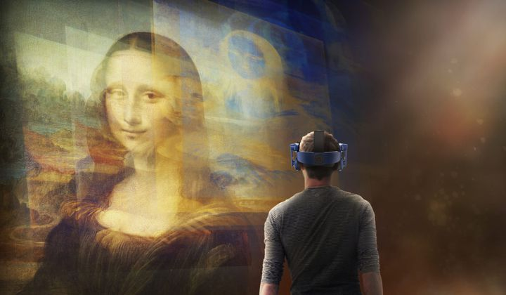 VR Project Lets Visitors Get Close to 'Mona Lisa'