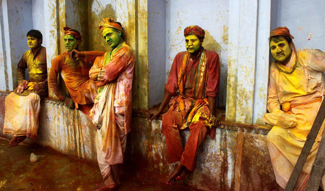 The Meaning Behind The Many Colors Of Indias Holi Festival Travel