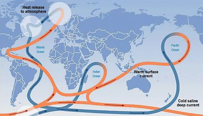 Ocean Current That Keeps Europe Warm Is Weakening
