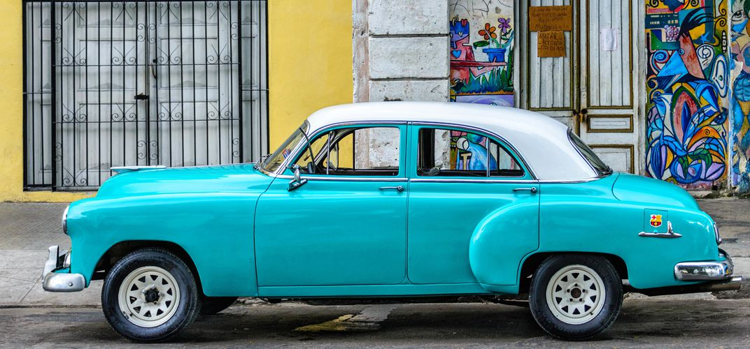Typical scene in Havana. Credit: Giancarlo Bisone