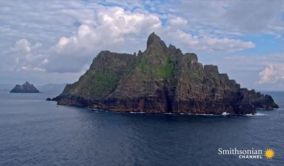 Preview thumbnail for video'A stunning and dramatic Irish island once inhabited by monks