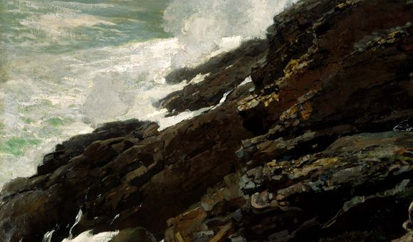 High Cliff, Coast of Maine, 1894