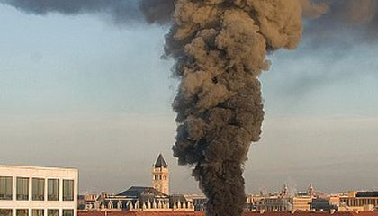 UPDATED: Fire in the Natural History Museum's Mechanical Building Under Control; Museum Is Open