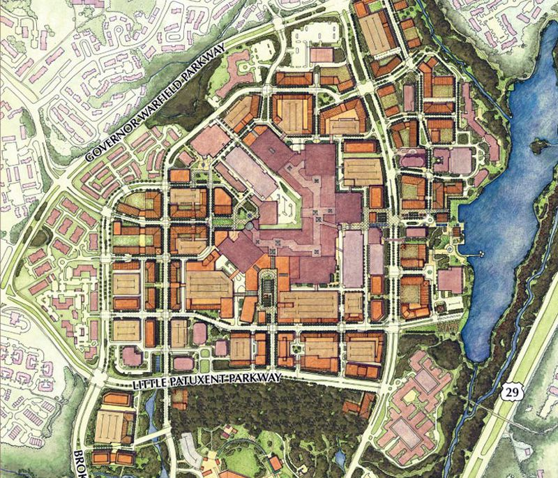 Town Center Columbia Md: James W. Rouse's Legacy Of Better Living Through Design