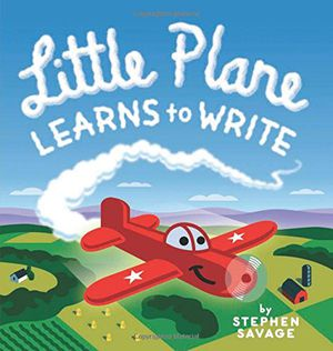Preview thumbnail for 'Little Plane Learns to Write