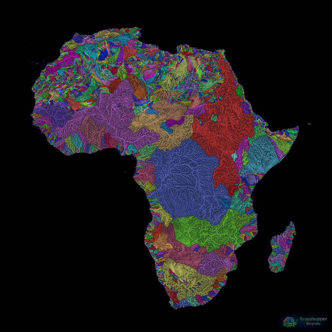 These Beautiful Maps Capture the Rivers That Pulse Through Our World ...