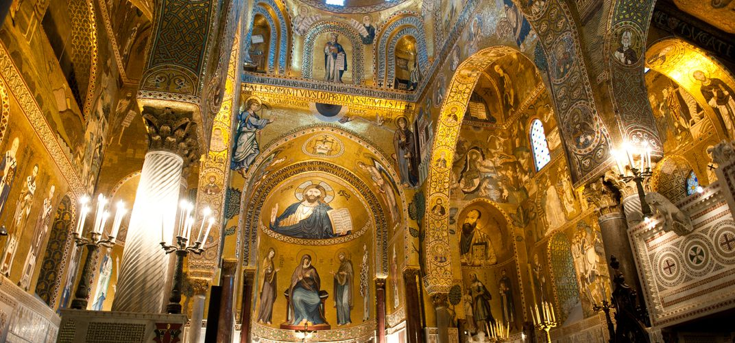 The Palatine Chapel, Palermo