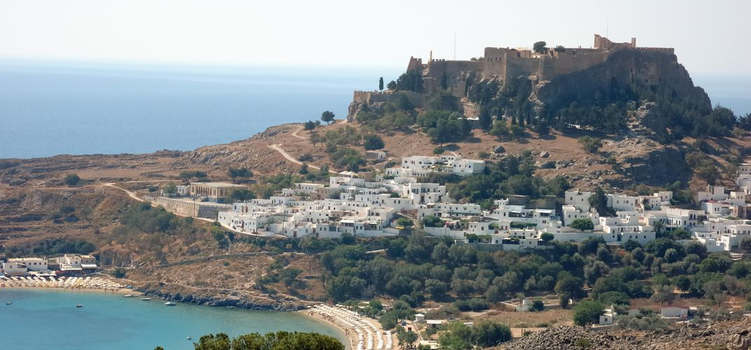 The Acropolis at Lindos