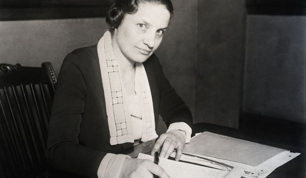 Mabel Walker Willibrandt, an assistant attorney general of the U.S., at the federal building in Chicago.