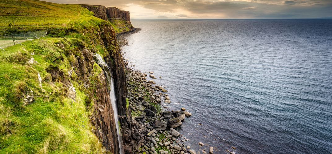 Kilt Rock on the Trotternish Peninsula, Isle of Skye
