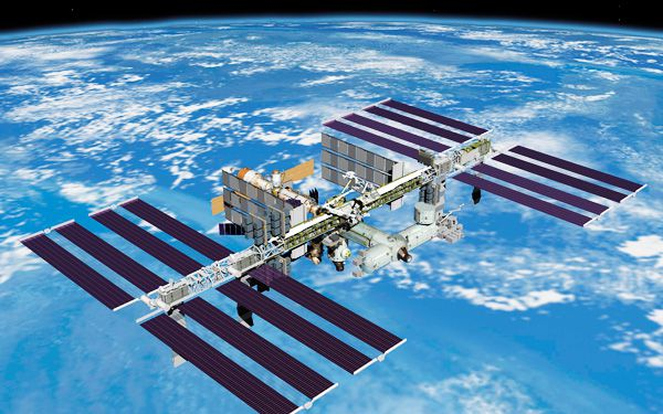 Christmas comes late to International Space Station