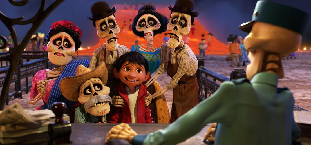 Caption: Did Disney Pixar Get It Right in 'Coco'?