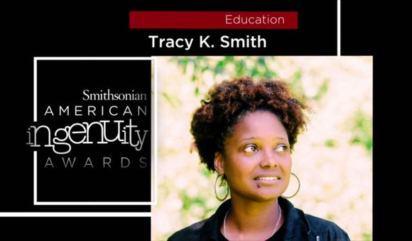 Preview thumbnail for video'Smithsonian Ingenuity Award Winner: Tracy K. Smith