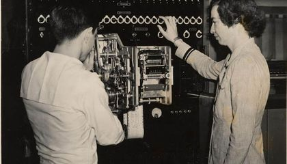 Hopper and a colleague examine a sequence mechanism (NMAH)
