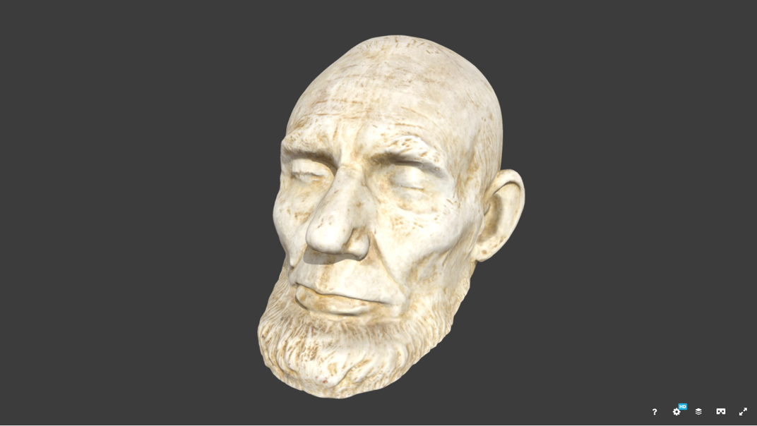 Lincoln Mask 3-D