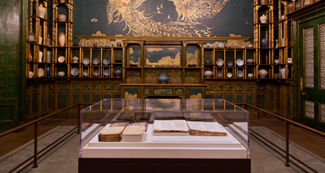The Peacock Room Comes to America: Exhibiting Freer's Bibles